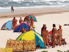 Auf deutscher Seite sieht das am Strand oft so aus.