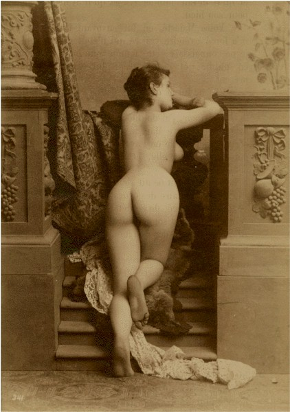 Nude Study, France, c1870