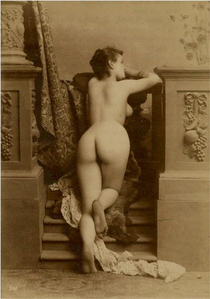 голые женщины ретро фото
