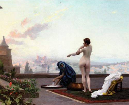 Bethsabée by Jean-Léon Gérôme (1889 or ca 1895 ?)