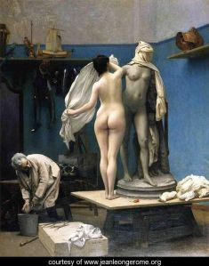 The End of the Sitting by Jean-Léon Gérôme