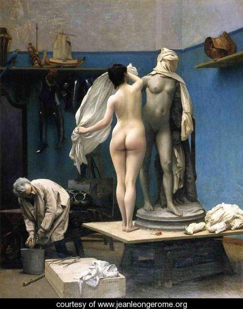 The End of the Sitting by Jean-Léon Gérôme