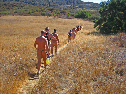 Naked Hike (7772A) by Ron's Log on Flickr - Photo Sharing!