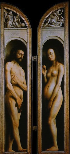 The Ghent Altarpiece (Adam and Eve) by Jan van Eyck