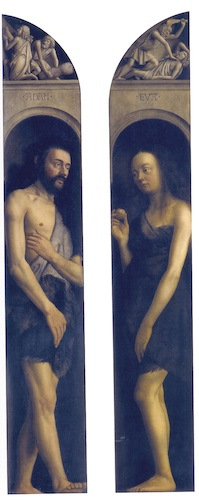 The Ghent Altarpiece (Adam and Eve dressed)