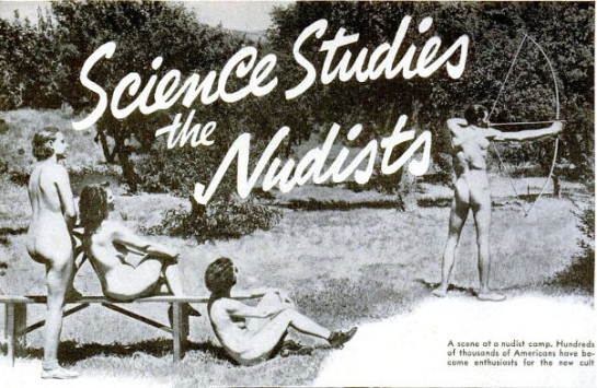 Science studies the Nudists