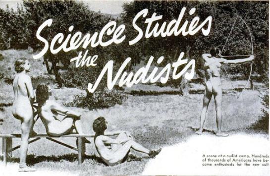 Science studies the Nudists