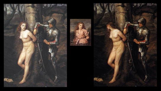 Knight Errant 1870 by Millais and the Victorian Nude by Martin Beek | Flickr - Photo Sharing!