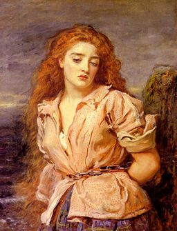 The Martyr of the Solway (c.1871) by John Everett Millais