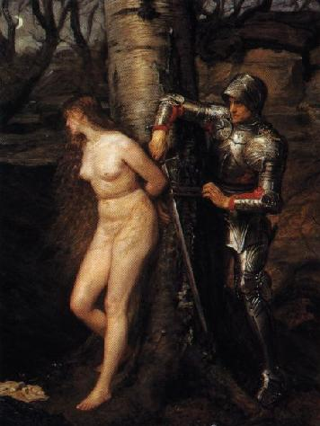 The Knight Errant (1870) by John Everett Millais
