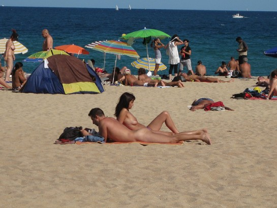 Nude beach in Spain by utomjording | Flickr - Photo Sharing!