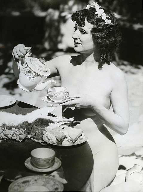 1935 nudist tea party By carbonated | Flickr - Photo Sharing!