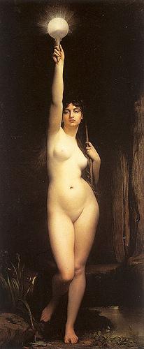 Truth (La Vérité), 1870, by Jules Lefebvre