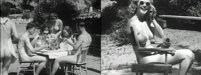 Au cinema film history naturel nudist