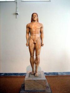 Statue of kouros - Wikimedia Commons