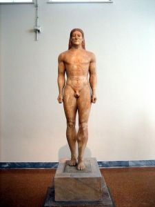Statue of kouros - Wikimedia Commons